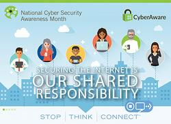 It's National Cybersecurity Awareness Month! Here's How to Get Involved: [Infographic]
